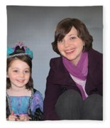 Mother And Daughter Fleece Blanket