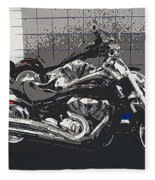 Motorcycle Ride - Two Fleece Blanket
