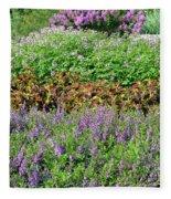 Mounds Of Color Fleece Blanket