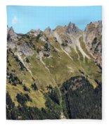 Mount Baker National Forest Fleece Blanket