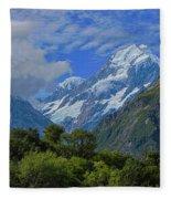 Mount Cook Fleece Blanket