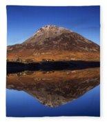Mount Errigal, Lough Nacung, Dunlewy Fleece Blanket