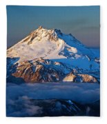 Mount Jefferson Fleece Blanket