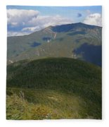 Mount Lafayette From The Kinsman Trail Fleece Blanket