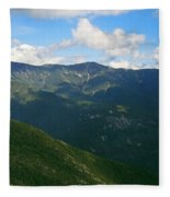 Mount Lafayette From Top Of Cannon Mountain Fleece Blanket