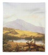 Mount Mansfield Fleece Blanket