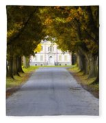 Mount Pleasant In Autumn - Philadelphia Fleece Blanket