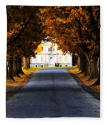 Mount Pleasant Mansion - Philadelphia Fleece Blanket