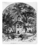 Mount Vernon, 1883 Fleece Blanket
