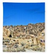 Mount Whitney Gardian Fleece Blanket