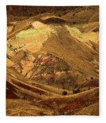 Mountain Buds Fleece Blanket