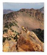 Mountain Climber Fleece Blanket