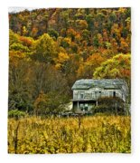 Mountain Home Painted Fleece Blanket