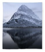 Mountain Mirror Fleece Blanket