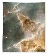Mountain Of Cold Hydrogen Fleece Blanket