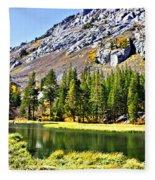 Mountain Pond Fleece Blanket