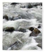 Mountain Stream Smokies Fleece Blanket