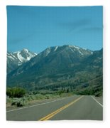 Mountains Ahead Fleece Blanket