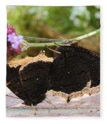 Mourning Cloak Butterfly Lovin' Fleece Blanket