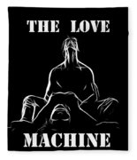 Mr Lover Lover Fleece Blanket
