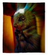 Mr. Rabbit Fleece Blanket