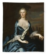 Mrs. Charles Carroll Of Annapolis Fleece Blanket