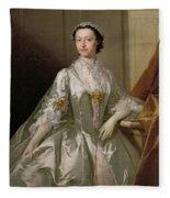 Mrs Wardle Fleece Blanket