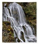 Mt Hood Cascade Fleece Blanket