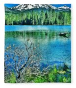 Mt Lassen Fleece Blanket
