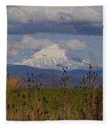Mt Mclaughlin Springtime Fleece Blanket