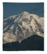 Mt Rainier Fleece Blanket