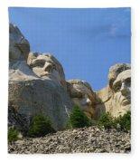 Mt Rushmore Fleece Blanket
