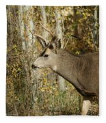Mulie Buck 3 Fleece Blanket