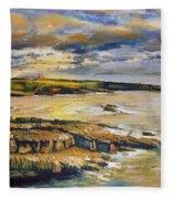 Mullaghmore County Sligo Fleece Blanket