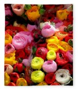 Multicolor Fleece Blanket