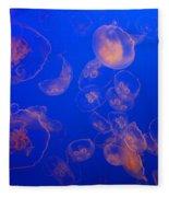 Multiple Jelly Fish Fleece Blanket