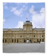 The Louvre Fleece Blanket