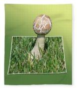 Mushroom 02 Fleece Blanket
