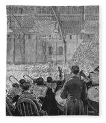 Music Festival, 1881 Fleece Blanket