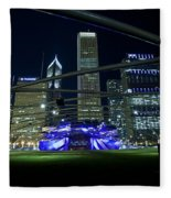 Music In The City Fleece Blanket