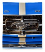 Mustang Grill Fleece Blanket