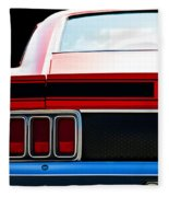 Mustang Mach 1 Fleece Blanket