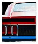 Mustang Mach 1 Fleece Blanket