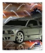 Mustang Saleen  Fleece Blanket