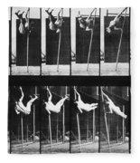 Muybridge: Photography Fleece Blanket