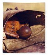 Muzzle Loader's Tools-color Fleece Blanket