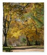 My Golden Days Fleece Blanket