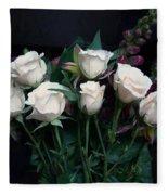 My Last Roses Fleece Blanket