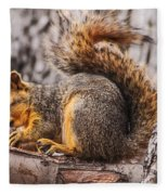 My Nut Fleece Blanket