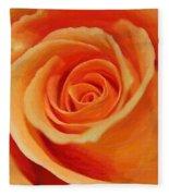 My Wonderful Rose Fleece Blanket